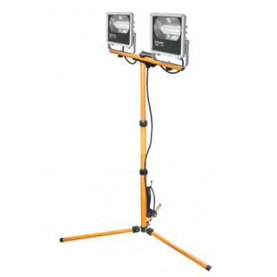 Светильник Navigator 71 323 NFL-M-2x50-4K-TRI-LEDCветодиодные<br>Прожекторы NFL-M-PRL и NFL-M-TRI являются энергоэффективной заменой галогенных прожекторов. Они обладают степенью защиты от пыли и влаги IP65, подходят как для внутреннего, так и для наружного использования. Предназначены для обустройства освещения во временных рабочих зонах, а также для строительно-ремонтных площадок. Специальный матовый рассеиватель, закрывающий светодиоды, снижает уровень слепимости, а алюминиевый рефлектор обеспечивает угол светового потока 70°, создавая мощный направленный свет. Обладает эффективностью порядка 70 лм/ Вт, при этом коэффициент цветопередачи прожектора обеспечивается на уровне Ra 75. Диапазон рабочих температур окружающей среды от -30 до +40. Отсутствует мерцание и пульсация светового потока.<br>NFL-M-TRI – оснащена раздвижным штативом регулируемым по высоте. Все модели оснащены кабелем питания с вилкой для удобства подключения.<br>Срок службы светодиодных прожекторов NFL-M-PRL и NFL-M-TRI составляет 30 000 часов.<br>