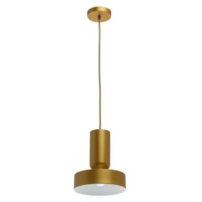 Светильник Mw light 715010201люстры хай тек потолочные<br>Оригинальный светильник отлично подойдет для зональной подсветки современного интерьера, особенно – в комбинации из нескольких подвесов. Основание и плафон выполнены из металла в благородном цвете сатинового золота. Изнутри плафон окрашен в белый тон, что обеспечивает более яркий свет. Нетривиальные формы и трендовый дизайн подчеркнуты декоративным шнуром в тон основанию.<br><br>S освещ. до, м2: 2.2<br>Тип лампы: Энергосберегающие, светодиодные, накаливания<br>Тип цоколя: Е14<br>Цвет арматуры: золотой<br>Количество ламп: 1<br>Диаметр, мм мм: 200<br>Высота полная, мм: 1200<br>Поверхность арматуры: глянцевая<br>Оттенок (цвет): золотой<br>MAX мощность ламп, Вт: 40 Вт