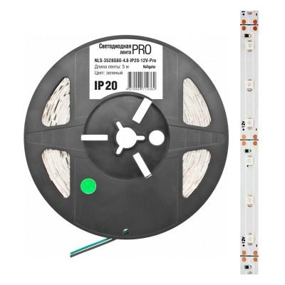 СД Лента Navigator 71 710 NLS-5050CW60-14.4-IP65-12V-Pro R5Лента 5050<br><br><br>Тип товара: Светодиодная лента<br>Цветовая t, К: CW - дневной белый 6000 К<br>Тип лампы: LED - светодиодная<br>Количество ламп: 60LED/м<br>MAX мощность ламп, Вт: 14,4<br>Длина, мм: 5000