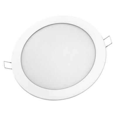 Светильник Navigator 71 761 NLP-R1-18W-R220-840-WH-LEDКруглые LED<br>Светодиодная ультратонкая панель предназначена для освещения внутри <br>помещений. Создает яркий и равномерный свет и обладает компактными <br>размерами, что делает данный светильник идеальным решением любых <br>задач по освещению и световому дизайну.<br>Основные преимущества <br><br>Эффективные и надежные светодиоды EPISTAR (Тайвань) Ragt;80; 70 Лм/Вт; <br>Специальная конструкция светильника, обеспечивающая равномерное распределение света; <br>Компактный размер – толщина панели 13 мм; <br>Надежный драйвер с высоким КПД (PFgt;0.5); <br>Отсутствие мерцания и пульсаций светового потока<br>Диапазон рабочих температур окружающей среды от -30 до +50<br><br>Цветовая t, К: 4000<br>Тип цоколя: LED<br>Ширина, мм: 220<br>MAX мощность ламп, Вт: 18<br>Диаметр врезного отверстия, мм: 216<br>Высота, мм: 24<br>Цвет арматуры: белый