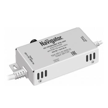 Контроллер Navigator 71 784 ND-CRGB550RF-IP20-220VКонтроллеры<br><br><br>Тип лампы: LED - светодиодная<br>Общая мощность, Вт: 550