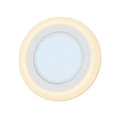 Светильник Navigator 71 820 NLP-RC2-6+2W-R140-WWW-LEDОжидается<br><br><br>Цветовая t, К: 4000/2700<br>Тип лампы: LED<br>Тип цоколя: LED<br>MAX мощность ламп, Вт: 6/2<br>Диаметр, мм мм: 140<br>Высота, мм: 20
