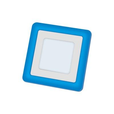 Светильник Navigator 71 823 NLP-SC2-6+2W-WB-LED(140x140)Квадратные LED<br><br><br>Цветовая t, К: 4000<br>Тип лампы: LED<br>Тип цоколя: LED<br>Ширина, мм: 140<br>MAX мощность ламп, Вт: 6/2<br>Диаметр врезного отверстия, мм: 100 x 100<br>Длина, мм: 140<br>Высота, мм: 20