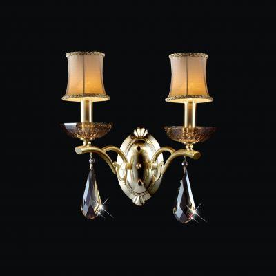Lightstar INATTI 718623 Светильник настенный браКлассические<br><br><br>S освещ. до, м2: 6<br>Крепление: настенное<br>Тип лампы: накаливания / энергосбережения / LED-светодиодная<br>Тип цоколя: E14<br>Количество ламп: 2<br>Ширина, мм: 320<br>MAX мощность ламп, Вт: 40<br>Размеры: H min-max370 W320 отступ<br>Расстояние от стены, мм: 350<br>Высота, мм: 350<br>Оттенок (цвет): ЗОЛОТО<br>Цвет арматуры: золотой