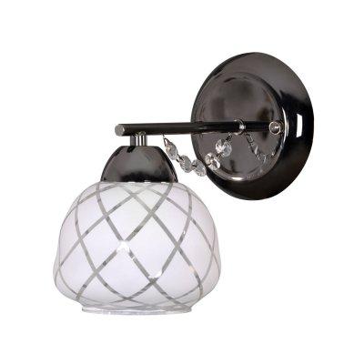 Светильник Colosseo 71914/1Wсовременные бра модерн<br><br><br>S освещ. до, м2: 4<br>Тип лампы: накаливания / энергосбережения / LED-светодиодная<br>Тип цоколя: E14<br>Цвет арматуры: черный<br>Количество ламп: 1<br>Ширина, мм: 120<br>Расстояние от стены, мм: 190<br>Высота, мм: 190<br>MAX мощность ламп, Вт: 60