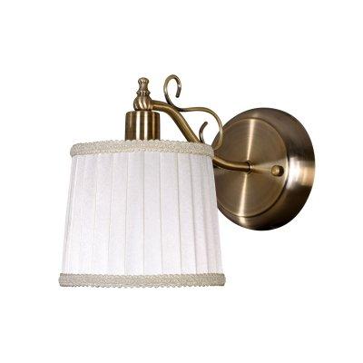 Светильник Colosseo 71916/1WКлассические<br><br><br>S освещ. до, м2: 4<br>Тип лампы: накаливания / энергосбережения / LED-светодиодная<br>Тип цоколя: E14<br>Цвет арматуры: бронзовый<br>Количество ламп: 1<br>Ширина, мм: 140<br>Расстояние от стены, мм: 180<br>Высота, мм: 250<br>MAX мощность ламп, Вт: 60