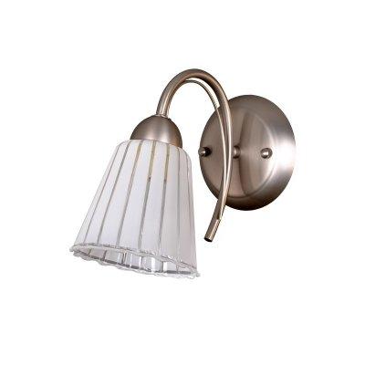 Светильник бра Colosseo 71920/1W BATTISTAМодерн<br><br><br>S освещ. до, м2: 4<br>Тип товара: Светильник настенный бра<br>Скидка, %: 42<br>Тип лампы: накаливания / энергосбережения / LED-светодиодная<br>Тип цоколя: E14<br>Количество ламп: 1<br>Ширина, мм: 120<br>MAX мощность ламп, Вт: 60<br>Расстояние от стены, мм: 250<br>Высота, мм: 210<br>Цвет арматуры: серый