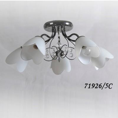 Светильник Colosseo 71926/5C optimaПотолочные<br>Компания «Светодом» предлагает широкий ассортимент люстр от известных производителей. Представленные в нашем каталоге товары выполнены из современных материалов и обладают отличным качеством. Благодаря широкому ассортименту Вы сможете найти у нас люстру под любой интерьер. Мы предлагаем как классические варианты, так и современные модели, отличающиеся лаконичностью и простотой форм.  Стильная люстра Colosseo 71926/5C станет украшением любого дома. Эта модель от известного производителя не оставит равнодушным ценителей красивых и оригинальных предметов интерьера. Люстра Colosseo 71926/5C обеспечит равномерное распределение света по всей комнате. При выборе обратите внимание на характеристики, позволяющие приобрести наиболее подходящую модель. Купить понравившуюся люстру по доступной цене Вы можете в интернет-магазине «Светодом». Мы предлагаем доставку не только по Москве и Екатеринбурге, но и по всей России.<br><br>S освещ. до, м2: 15<br>Тип цоколя: E14<br>Количество ламп: 5<br>Ширина, мм: 600<br>MAX мощность ламп, Вт: 40<br>Диаметр, мм мм: 600<br>Длина, мм: 600<br>Высота, мм: 230<br>Цвет арматуры: черный