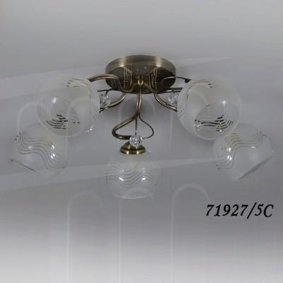 Светильник Colosseo 71927/5C optimaПотолочные<br>Компания «Светодом» предлагает широкий ассортимент люстр от известных производителей. Представленные в нашем каталоге товары выполнены из современных материалов и обладают отличным качеством. Благодаря широкому ассортименту Вы сможете найти у нас люстру под любой интерьер. Мы предлагаем как классические варианты, так и современные модели, отличающиеся лаконичностью и простотой форм.  Стильная люстра Colosseo 71927/5C станет украшением любого дома. Эта модель от известного производителя не оставит равнодушным ценителей красивых и оригинальных предметов интерьера. Люстра Colosseo 71927/5C обеспечит равномерное распределение света по всей комнате. При выборе обратите внимание на характеристики, позволяющие приобрести наиболее подходящую модель. Купить понравившуюся люстру по доступной цене Вы можете в интернет-магазине «Светодом».<br><br>S освещ. до, м2: 9<br>Тип цоколя: E14<br>Количество ламп: 3<br>Ширина, мм: 550<br>MAX мощность ламп, Вт: 40<br>Диаметр, мм мм: 550<br>Длина, мм: 550<br>Высота, мм: 220<br>Цвет арматуры: бронзовый