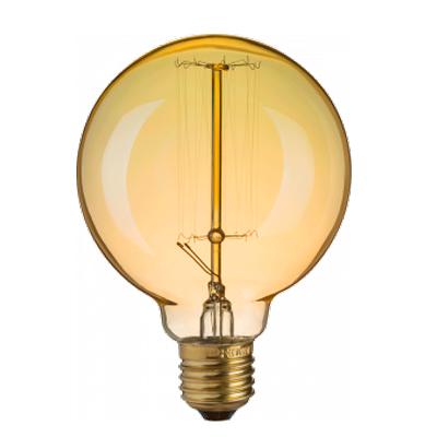 Лампа Navigator 71 956 NI-V-G95-SC19-60-230-E27-CLGРетро лампы<br>Декоративные лампы накаливания Винтаж выполнены в ретро-стиле, предназначены для использования в жилых и коммерческих помещениях. Лампы являются идеальным декоративным элементом освещения в стиле лофт, ретро, винтаж, кантри, стим-панк и т.п.<br><br>Тип лампы: Накаливания<br>Тип цоколя: E27<br>MAX мощность ламп, Вт: 60<br>Диаметр, мм мм: 95<br>Высота, мм: 130