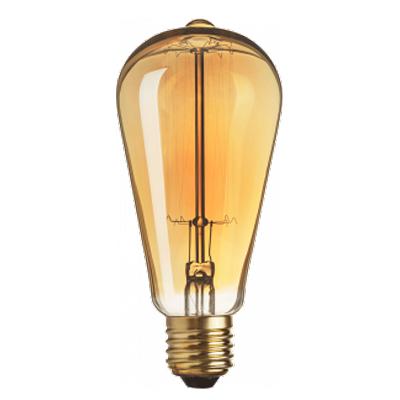 Лампа Navigator 71 957 NI-V-ST64-SC17-60-230-E27-CLGРетро лампы<br>В интернет-магазине «Светодом» можно купить не только люстры и светильники, но и лампочки. В нашем каталоге представлены светодиодные, галогенные, энергосберегающие модели и лампы накаливания. В ассортименте имеются изделия разной мощности, поэтому у нас Вы сможете приобрести все необходимое для освещения.   Лампа Navigator 71 957 NI-V-ST64-SC17-60-230-E27-CLG обеспечит отличное качество освещения. При покупке ознакомьтесь с параметрами в разделе «Характеристики», чтобы не ошибиться в выборе. Там же указано, для каких осветительных приборов Вы можете использовать лампу Navigator 71 957 NI-V-ST64-SC17-60-230-E27-CLGNavigator 71 957 NI-V-ST64-SC17-60-230-E27-CLG.   Для оформления покупки воспользуйтесь «Корзиной». При наличии вопросов Вы можете позвонить нашим менеджерам по одному из контактных номеров. Мы доставляем заказы в Москву, Екатеринбург и другие города России.<br><br>Тип лампы: Накаливания<br>Тип цоколя: E27<br>MAX мощность ламп, Вт: 60<br>Диаметр, мм мм: 64<br>Высота, мм: 145