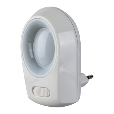 Светильник Navigator 71 971 NNL-SW01-WH, 220В, выключательВ розетку<br><br><br>Тип лампы: LED<br>Цвет арматуры: белый<br>MAX мощность ламп, Вт: 0.5