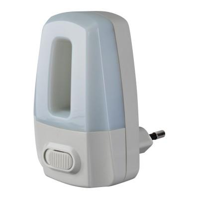 Светильник Navigator 71 972 NNL-SW02-WH, 220В, выключательВ розетку<br><br><br>Тип лампы: LED<br>MAX мощность ламп, Вт: 0.5