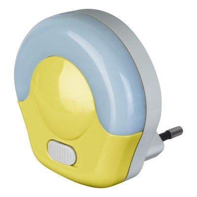 Светильник Navigator 71 974 NNL-SW04-Y, 220В, выключательДля детской<br><br><br>Тип лампы: LED<br>MAX мощность ламп, Вт: 0.5
