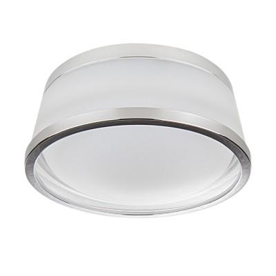 Светильник Lightstar 72172 MATUROКруглые встраиваемые светильники<br><br><br>Цветовая t, К: 3000<br>Тип лампы: LED<br>Тип цоколя: LED<br>Цвет арматуры: серебристый<br>Диаметр, мм мм: 90<br>Высота, мм: 35
