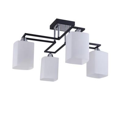 Светильник Colosseo 72177/4C OptimaПотолочные<br><br><br>Тип лампы: Накаливания / энергосбережения / светодиодная<br>Тип цоколя: E27<br>Количество ламп: 4<br>Ширина, мм: 590<br>MAX мощность ламп, Вт: 60<br>Длина, мм: 590<br>Высота, мм: 315<br>Цвет арматуры: венге / хром серебристый