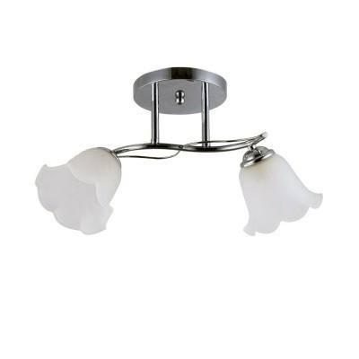 Светильник Colosseo 72192/2C OptimaПотолочные<br><br><br>Установка на натяжной потолок: Да<br>S освещ. до, м2: 6<br>Крепление: Планка<br>Тип лампы: Накаливания / энергосбережения / светодиодная<br>Тип цоколя: E14<br>Количество ламп: 2<br>Ширина, мм: 140<br>MAX мощность ламп, Вт: 60<br>Длина, мм: 420<br>Высота, мм: 230<br>Цвет арматуры: хром серебристый