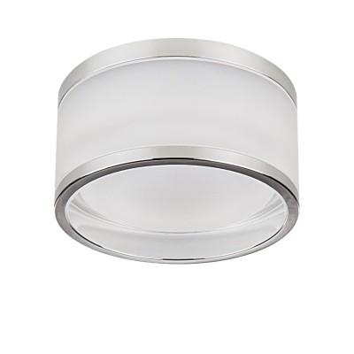 Светильник Lightstar 72252 MATUROКруглые<br><br><br>Тип лампы: LED<br>Тип цоколя: LED<br>Цвет арматуры: серебристый<br>Диаметр, мм мм: 70<br>Высота, мм: 38<br>MAX мощность ламп, Вт: 50