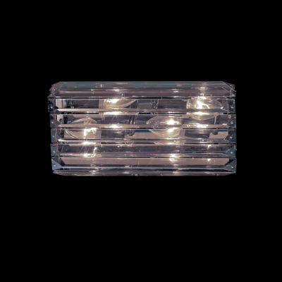 Lightstar LIMPIO 722660 Светильник настенный браХай-тек<br><br><br>S освещ. до, м2: 20<br>Крепление: настенное<br>Тип лампы: галогенная / LED-светодиодная<br>Тип цоколя: G4<br>Цвет арматуры: серебристый<br>Количество ламп: 6<br>Ширина, мм: 360<br>Размеры: W 360 H 180 Выступ 100<br>Расстояние от стены, мм: 100<br>Высота, мм: 180<br>Оттенок (цвет): белый<br>MAX мощность ламп, Вт: 20