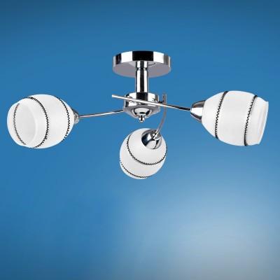 Люстра Colosseo 72402/3C JESSICAПотолочные<br>Компания «Светодом» предлагает широкий ассортимент люстр от известных производителей. Представленные в нашем каталоге товары выполнены из современных материалов и обладают отличным качеством. Благодаря широкому ассортименту Вы сможете найти у нас люстру под любой интерьер. Мы предлагаем как классические варианты, так и современные модели, отличающиеся лаконичностью и простотой форм.   Стильная люстра Colosseo 72402/3C станет украшением любого дома. Эта модель от известного производителя не оставит равнодушным ценителей красивых и оригинальных предметов интерьера. Люстра Colosseo 72402/3C обеспечит равномерное распределение света по всей комнате. При выборе обратите внимание на характеристики, позволяющие приобрести наиболее подходящую модель.   Купить понравившуюся люстру по доступной цене Вы можете в интернет-магазине «Светодом».<br><br>Установка на натяжной потолок: Да<br>S освещ. до, м2: 9<br>Крепление: Планка<br>Тип лампы: Накаливания / энергосбережения / светодиодная<br>Тип цоколя: E14<br>Количество ламп: 3<br>MAX мощность ламп, Вт: 60<br>Диаметр, мм мм: 605<br>Высота, мм: 225<br>Цвет арматуры: серебристиый хром
