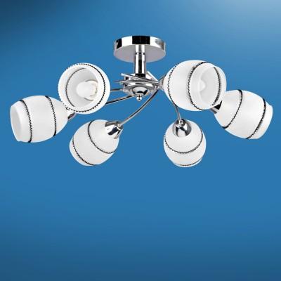 Люстра Colosseo 72402/6C JESSICAПотолочные<br>Компания «Светодом» предлагает широкий ассортимент люстр от известных производителей. Представленные в нашем каталоге товары выполнены из современных материалов и обладают отличным качеством. Благодаря широкому ассортименту Вы сможете найти у нас люстру под любой интерьер. Мы предлагаем как классические варианты, так и современные модели, отличающиеся лаконичностью и простотой форм.   Стильная люстра Colosseo 72402/6C станет украшением любого дома. Эта модель от известного производителя не оставит равнодушным ценителей красивых и оригинальных предметов интерьера. Люстра Colosseo 72402/6C обеспечит равномерное распределение света по всей комнате. При выборе обратите внимание на характеристики, позволяющие приобрести наиболее подходящую модель.   Купить понравившуюся люстру по доступной цене Вы можете в интернет-магазине «Светодом».<br><br>Установка на натяжной потолок: Да<br>S освещ. до, м2: 18<br>Крепление: Планка<br>Тип лампы: Накаливания / энергосбережения / светодиодная<br>Тип цоколя: E14<br>Количество ламп: 6<br>MAX мощность ламп, Вт: 60<br>Диаметр, мм мм: 650<br>Высота, мм: 225<br>Цвет арматуры: серебристиый хром