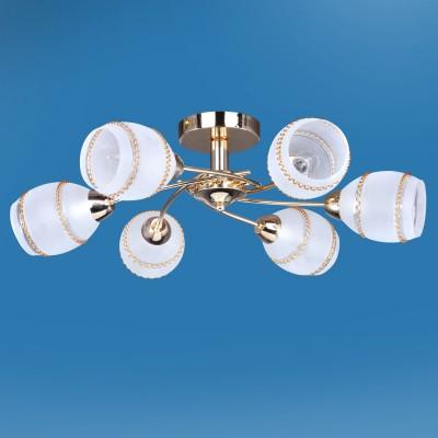 Люстра Colosseo 72403/6C JESSICAПотолочные<br>Компания «Светодом» предлагает широкий ассортимент люстр от известных производителей. Представленные в нашем каталоге товары выполнены из современных материалов и обладают отличным качеством. Благодаря широкому ассортименту Вы сможете найти у нас люстру под любой интерьер. Мы предлагаем как классические варианты, так и современные модели, отличающиеся лаконичностью и простотой форм. <br>Стильная люстра Colosseo 72403/6C станет украшением любого дома. Эта модель от известного производителя не оставит равнодушным ценителей красивых и оригинальных предметов интерьера. Люстра Colosseo 72403/6C обеспечит равномерное распределение света по всей комнате. При выборе обратите внимание на характеристики, позволяющие приобрести наиболее подходящую модель. <br>Купить понравившуюся люстру по доступной цене Вы можете в интернет-магазине «Светодом».<br><br>Установка на натяжной потолок: Да<br>S освещ. до, м2: 18<br>Крепление: Планка<br>Тип лампы: Накаливания / энергосбережения / светодиодная<br>Тип цоколя: E14<br>Цвет арматуры: золотой<br>Количество ламп: 6<br>Диаметр, мм мм: 650<br>Высота, мм: 225<br>MAX мощность ламп, Вт: 60