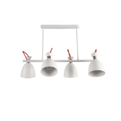 Светильник Colosseo optima 72434/4C белый E27 4*60Wдлинные подвесные светильники<br>Светильник Colosseo optima 72434/4C белый E27 4*60W отличается регулировкой по высоте и сделает Ваш интерьер современным, стильным и запоминающимся! Наиболее функционально и эстетически привлекательно модель будет смотреться в гостиной, зале, холле или другой комнате. А в комплекте с люстрой, бра или торшером из этой же коллекции сделает ремонт по-дизайнерски профессиональным и законченным.