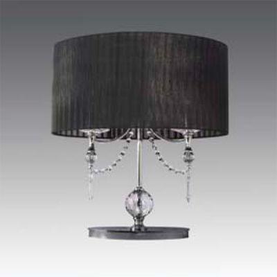Lightstar PARALUME 725927 Настольная лампаКлассические<br><br><br>Тип цоколя: E14<br>Цвет арматуры: Хром<br>Количество ламп: 2<br>Ширина, мм: 300<br>Диаметр, мм мм: 300<br>Размеры: H 500 W 50x30<br>Длина, мм: 300<br>Высота, мм: 500<br>Оттенок (цвет): черный<br>MAX мощность ламп, Вт: 40W