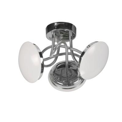 Светильник Colosseo optima 72904/3C хром LEDлюстры хай тек потолочные<br><br><br>Тип лампы: LED - светодиодная<br>Тип цоколя: LED, встроенные светодиоды<br>Цвет арматуры: серебристый<br>Количество ламп: 3<br>Диаметр, мм мм: 600<br>Высота, мм: 320<br>Поверхность арматуры: глянцевая<br>Оттенок (цвет): серебристый<br>MAX мощность ламп, Вт: 12<br>Общая мощность, Вт: 36