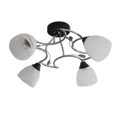 Светильник Colosseo 73023/4Cсовременные потолочные люстры<br>Светильник Colosseo 73023/4C сделает Ваш интерьер современным, стильным и запоминающимся! Наиболее функционально и эстетически привлекательно модель будет смотреться в гостиной, зале, холле или другой комнате. А в комплекте с настенными бра и торшером из этой же коллекции, сделает интерьер по-дизайнерски профессиональным и законченным.