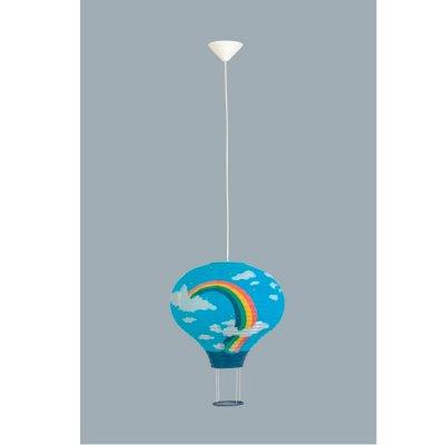 Подвесной светильник воздушный шар Brilliant 73370A03 RainbowДетские<br>Зачастую мы ищем идеальное освещение для своего дома и уделяем этому достаточно много времени. Так, например, если нам нужен светильник с количеством ламп - 1 и цвет плафонов должен быть - цветной рисунок, а материал плафонов только бумага! То нам, как вариант, подойдет модель подвесного светильника Brilliant 73370A03.<br><br>S освещ. до, м2: 4<br>Тип товара: Светильник подвесной<br>Тип лампы: накал-я - энергосбер-я<br>Тип цоколя: E27<br>Количество ламп: 1<br>MAX мощность ламп, Вт: 60<br>Диаметр, мм мм: 370<br>Высота, мм: 1700<br>Цвет арматуры: белый