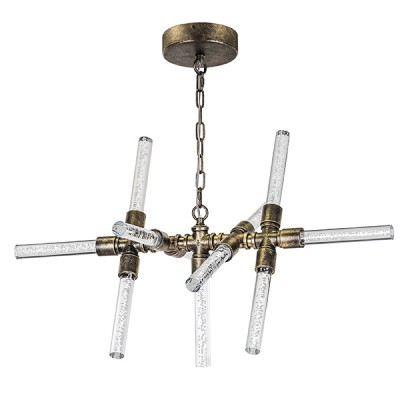 Люстра Lightstar 740112 CONDETTAподвесные люстры лофт<br>Высота min-max (см): 51-145; Ширина (см): 49; Вес (кг): 4,5; Кол-во ламп: LED ; Мощность max (W): 5Wх11; Световой поток:<br>660LM; Цвет основания/цвет стекла или абажура: ; 3000K<br><br>Крепление: планка<br>Цветовая t, К: 3000K<br>Тип лампы: LED - светодиодная<br>Тип цоколя: LED<br>Цвет арматуры: латунь<br>Количество ламп: 11<br>Ширина, мм: 490<br>Высота полная, мм: 510-1450<br>Размеры основания, мм: 150<br>Высота, мм: 490<br>Поверхность арматуры: матовая<br>Оттенок (цвет): латунь<br>MAX мощность ламп, Вт: 5<br>Общая мощность, Вт: 55