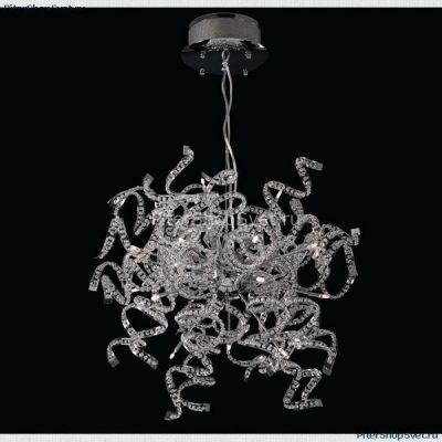 Lightstar SPIDER 742194 ЛюстраПодвесные<br>Компания «Светодом» предлагает широкий ассортимент люстр от известных производителей. Представленные в нашем каталоге товары выполнены из современных материалов и обладают отличным качеством. Благодаря широкому ассортименту Вы сможете найти у нас люстру под любой интерьер. Мы предлагаем как классические варианты, так и современные модели, отличающиеся лаконичностью и простотой форм.  Стильная люстра Lightstar 742194 станет украшением любого дома. Эта модель от известного производителя не оставит равнодушным ценителей красивых и оригинальных предметов интерьера. Люстра Lightstar 742194 обеспечит равномерное распределение света по всей комнате. При выборе обратите внимание на характеристики, позволяющие приобрести наиболее подходящую модель. Купить понравившуюся люстру по доступной цене Вы можете в интернет-магазине «Светодом». Мы предлагаем доставку не только по Москве и Екатеринбурге, но и по всей России.<br><br>Установка на натяжной потолок: Да<br>S освещ. до, м2: 12<br>Крепление: Планка<br>Тип лампы: галогенная / LED-светодиодная<br>Тип цоколя: G4<br>Количество ламп: 9<br>MAX мощность ламп, Вт: 20<br>Диаметр, мм мм: 460<br>Размеры: H 560-1060 D 460<br>Высота, мм: 1060<br>Оттенок (цвет): белый<br>Цвет арматуры: серебристый
