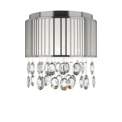 Люстра потолочная Lightstar 745094R CAPPEсовременные потолочные люстры модерн<br><br><br>S освещ. до, м2: 9<br>Тип лампы: галогенная/LED<br>Тип цоколя: G4<br>Цвет арматуры: серебристый<br>Количество ламп: 9<br>Диаметр, мм мм: 400<br>Размеры основания, мм: 400<br>Высота, мм: 450