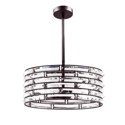 Бра Lightstar 746048Потолочные<br><br><br>Тип лампы: Накаливания / энергосбережения / светодиодная<br>Тип цоколя: E14<br>Количество ламп: 4<br>MAX мощность ламп, Вт: 40<br>Диаметр, мм мм: 410<br>Высота, мм: 333 - 1120<br>Цвет арматуры: коричневый