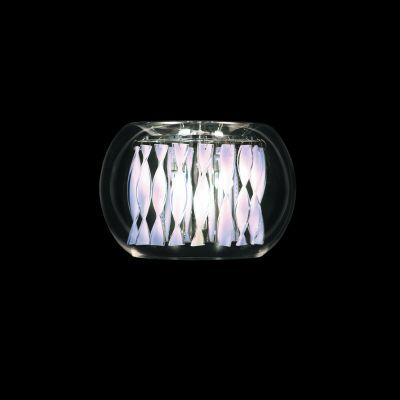 Lightstar ACQUARIO 752634 Светильник настенный браХай-тек<br><br><br>S освещ. до, м2: 12<br>Крепление: настенное<br>Тип лампы: галогенная / LED-светодиодная<br>Тип цоколя: G4<br>Количество ламп: 3<br>Ширина, мм: 300<br>MAX мощность ламп, Вт: 20<br>Размеры: W 300 H 200 B 150<br>Высота, мм: 230<br>Оттенок (цвет): белый<br>Цвет арматуры: серебристый