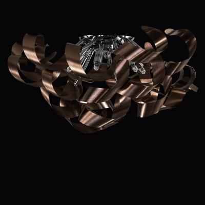 Светильник Lightstar 754068 TURBIOсовременные потолочные люстры модерн<br>Компания «Светодом» предлагает широкий ассортимент люстр от известных производителей. Представленные в нашем каталоге товары выполнены из современных материалов и обладают отличным качеством. Благодаря широкому ассортименту Вы сможете найти у нас люстру под любой интерьер. Мы предлагаем как классические варианты, так и современные модели, отличающиеся лаконичностью и простотой форм.  Стильная люстра Lightstar 754068 станет украшением любого дома. Эта модель от известного производителя не оставит равнодушным ценителей красивых и оригинальных предметов интерьера. Люстра Lightstar 754068 обеспечит равномерное распределение света по всей комнате. При выборе обратите внимание на характеристики, позволяющие приобрести наиболее подходящую модель. Купить понравившуюся люстру по доступной цене Вы можете в интернет-магазине «Светодом».<br><br>Установка на натяжной потолок: Да<br>S освещ. до, м2: 12<br>Крепление: Планка<br>Тип лампы: галогенная/LED<br>Тип цоколя: G9<br>Количество ламп: 6<br>Диаметр, мм мм: 600<br>Высота, мм: 150 - 235<br>MAX мощность ламп, Вт: 40