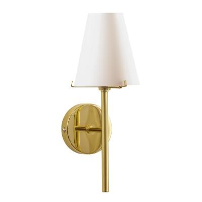 Lightstar DIAFANO 758612 Светильник настенный браСовременные<br><br><br>Тип лампы: галогенная/LED<br>Тип цоколя: G9<br>Количество ламп: 1<br>Ширина, мм: 140<br>MAX мощность ламп, Вт: 40<br>Длина, мм: 120<br>Высота, мм: 310<br>Цвет арматуры: Золотой