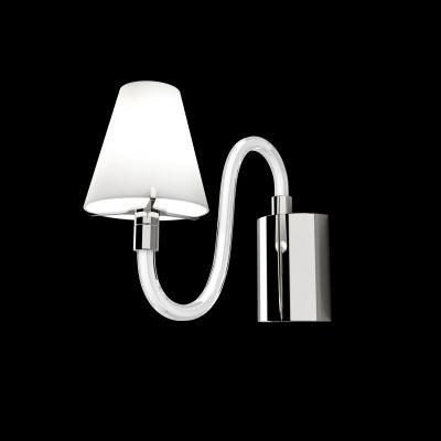 Lightstar BIANCO 760616 Светильник настенный браХай-тек<br><br><br>S освещ. до, м2: 2<br>Крепление: настенное<br>Тип товара: Светильник настенный бра<br>Тип лампы: галогенная / LED-светодиодная<br>Тип цоколя: G9<br>Количество ламп: 1<br>Ширина, мм: 80<br>MAX мощность ламп, Вт: 40<br>Размеры: W 80 H 200 Выступ 300<br>Высота, мм: 200<br>Оттенок (цвет): белый<br>Цвет арматуры: серебристый