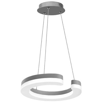 Подвесной светильник Lightstar 763149 Unitarioподвесные люстры хай тек стиля<br>Высота min-max (см): ; Ширина (см): ; Вес (кг): ; Кол-во ламп: LED; Мощность max (W): 11.5; Световой поток: 1265LM; Цвет основания/цвет стекла или абажура: Matt silver; 4000K