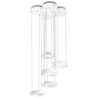 Подвесной светильник Lightstar 763436 Unitarioподвесные люстры хай тек стиля<br>Высота min-max (см): ; Ширина (см): ; Вес (кг): ; Кол-во ламп: LED; Мощность max (W): 46; Световой поток: 5060LM; Цвет основания/цвет стекла или абажура: Matt white; 3000K