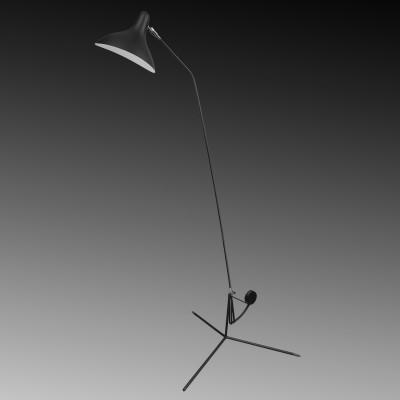 Торшер напольный Lightstar 764717 MANTIТоршеры в стиле хай тек<br>Торшер Manti легкий и функциональный. Металлический корпус покрыт черной матовой краской. Необычная форма плафона направляет свет четко туда, где он больше всего необходим. Уникальная конструкция у основания торшера позволяет без труда менять угол наклона светильника. Торшер не занимает много места и подойдет как объемным пространствам лофта, так и небольшим уютным комнатам.<br> Торшер 764717 Lightstar сразу же привлекает внимание благодаря своему необычному дизайну. Модель выполнена из качественных материалов, что обеспечит ее надежную и долговечную работу. Такой напольный светильник можно использовать для интерьера не только гостиной, но и спальни или кабинета. <br> Купить торшер 764717 Lightstar по выгодной стоимости Вы можете с помощью нашего сайта. У нас склады в Москве, Екатеринбурге, Санкт-Петербурге, Новосибирске и другим городам России.<br><br>Тип цоколя: E14<br>Цвет арматуры: черный<br>Количество ламп: 1<br>MAX мощность ламп, Вт: 40