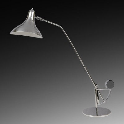 Lightstar MANTI 764904 Настольная лампаХай тек<br>Настольная лампа – это не просто источник дополнительного освещения, но и оригинальный элемент декора. Его можно установить в спальне, гостиной, кабинете и других комнатах. Интернет-магазин «Светодом» предлагает настольные лампы разных стилей по доступным ценам. Благодаря большому ассортименту Вы обязательно найдете в нашем каталоге именно ту модель, которую искали.   Настольная лампа Lightstar 764904 – прекрасный вариант для завершения интерьера. Ее можно включить одновременно с люстрой для более яркого освещения или без нее для создания уютной атмосферы, настраивающей на отдых.   Купить настольную лампу Lightstar 764904 Вы можете с помощью виртуальной «Корзины» или по контактным номерам, указанным на сайте.<br><br>Тип цоколя: E14<br>Цвет арматуры: серебристый<br>Количество ламп: 1<br>MAX мощность ламп, Вт: 40