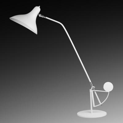 Lightstar MANTI 764906 Настольная лампаХай тек<br><br><br>Тип товара: Настольная лампа<br>Тип цоколя: E14<br>Количество ламп: 1<br>MAX мощность ламп, Вт: 40<br>Цвет арматуры: белый