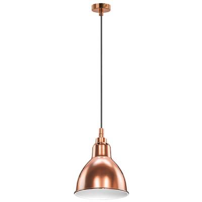 Подвесной светильник Lightstar 765013 Loftодиночные подвесные светильники<br>Высота min-max (см): 22-180; Ширина (см): 14,5; Вес (кг): 0,5; Кол-во ламп: 1; Мощность max (W): 40; Цвет основания/цвет стекла или абажура: МЕДЬ;