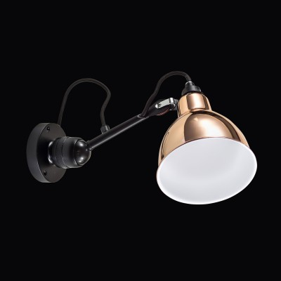 Lightstar LOFT 765603 Светильник настенный браНа штанге<br><br><br>Тип лампы: Накаливания / энергосбережения / светодиодная<br>Тип цоколя: E14<br>Количество ламп: 1<br>Ширина, мм: 155<br>MAX мощность ламп, Вт: 40<br>Длина, мм: 385<br>Высота, мм: 360