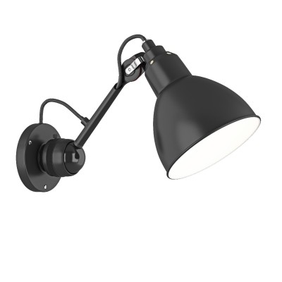 Lightstar LOFT 765607 Светильник настенный браГибкие<br><br><br>S освещ. до, м2: 2<br>Тип лампы: Накаливания / энергосбережения / светодиодная<br>Тип цоколя: E14<br>Цвет арматуры: черный<br>Количество ламп: 1<br>Размеры: H min-max175-360 W150 отступ<br>Оттенок (цвет): черный<br>MAX мощность ламп, Вт: 40