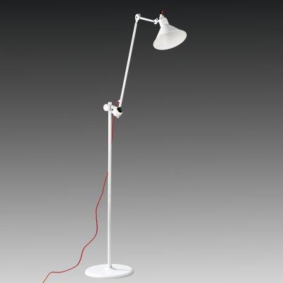 Торшер напольный Lightstar 765716 LOFTметаллические торшеры<br>Торшер – это не просто функциональный предмет интерьера, позволяющий обеспечить дополнительное освещение, но и оригинальный декоративный элемент. Интернет-магазин «Светодом» предлагает стильные модели от известных производителей по доступным ценам. У нас Вы найдете и классические напольные светильники, и современные варианты.   Торшер 765716 Lightstar сразу же привлекает внимание благодаря своему необычному дизайну. Модель выполнена из качественных материалов, что обеспечит ее надежную и долговечную работу. Такой напольный светильник можно использовать для интерьера не только гостиной, но и спальни или кабинета.   Купить торшер 765716 Lightstar по выгодной стоимости Вы можете с помощью нашего сайта. У нас склады в Москве, Екатеринбурге, Санкт-Петербурге, Новосибирске и другим городам России.<br><br>S освещ. до, м2: 2<br>Тип лампы: накаливания / энергосбережения / LED-светодиодная<br>Тип цоколя: E14<br>Цвет арматуры: белый<br>Количество ламп: 1<br>Диаметр, мм мм: 319<br>Размеры: H 1140-1987 D осн. 320 D плафона 219<br>Длина, мм: 1160<br>Высота, мм: 1987<br>Оттенок (цвет): белый<br>MAX мощность ламп, Вт: 40