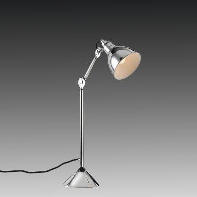 Lightstar LOFT 765914 Настольная лампаНа струбцине<br>Настольная лампа – это не просто источник дополнительного освещения, но и оригинальный элемент декора. Его можно установить в спальне, гостиной, кабинете и других комнатах. Интернет-магазин «Светодом» предлагает настольные лампы разных стилей по доступным ценам. Благодаря большому ассортименту Вы обязательно найдете в нашем каталоге именно ту модель, которую искали. <br> Настольная лампа Lightstar 765914 – прекрасный вариант для завершения интерьера. Ее можно включить одновременно с люстрой для более яркого освещения или без нее для создания уютной атмосферы, настраивающей на отдых. <br> Купить настольную лампу Lightstar 765914 Вы можете с помощью виртуальной «Корзины» или по контактным номерам, указанным на сайте.<br><br>Тип цоколя: E14<br>Цвет арматуры: серебристый<br>Количество ламп: 1<br>Размеры: H 352-736 D осн. 154 D плаф. 145  W  243-685<br>Оттенок (цвет): серебристый<br>MAX мощность ламп, Вт: 40