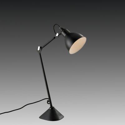 Lightstar LOFT 765917 Настольна лампаНа струбцине<br>Настольна лампа – то не просто источник дополнительного освещени, но и оригинальный лемент декора. Его можно установить в спальне, гостиной, кабинете и других комнатах. Интернет-магазин «Светодом» предлагает настольные лампы разных стилей по доступным ценам. Благодар большому ассортименту Вы обзательно найдете в нашем каталоге именно ту модель, котору искали.   Настольна лампа Lightstar 765917 – прекрасный вариант дл завершени интерьера. Ее можно вклчить одновременно с лстрой дл более ркого освещени или без нее дл создани утной атмосферы, настраиващей на отдых.   Купить настольну лампу Lightstar 765917 Вы можете с помощь виртуальной «Корзины» или по контактным номерам, указанным на сайте.<br><br>Тип цокол: E14<br>Количество ламп: 1<br>MAX мощность ламп, Вт: 40<br>Размеры: H 352-736 D осн. 154 D плаф. 145  W  243-685<br>Оттенок (цвет): черный<br>Цвет арматуры: черный